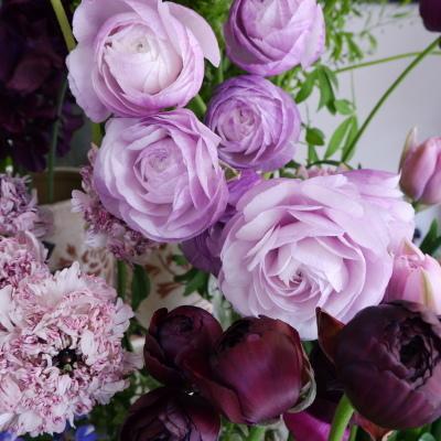 オークリーフ(今日のお店の花。明日の営業につきまして。)_f0049672_18233772.jpg