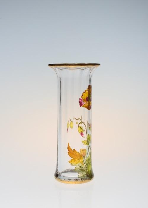 Baccarat Enamel Vase_c0108595_23380091.jpeg