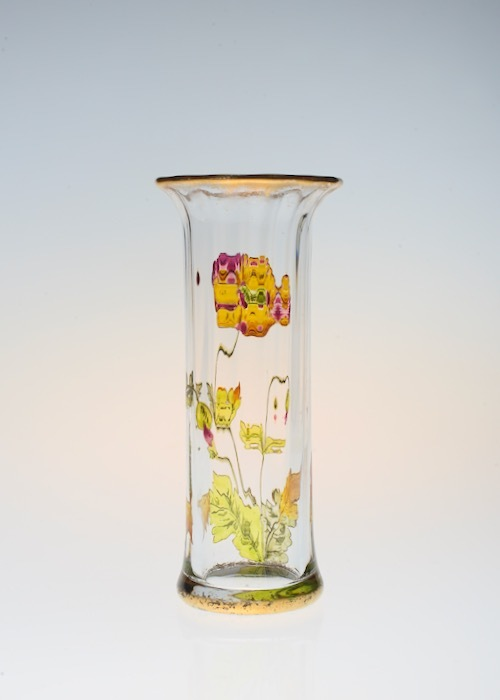 Baccarat Enamel Vase_c0108595_23391445.jpeg