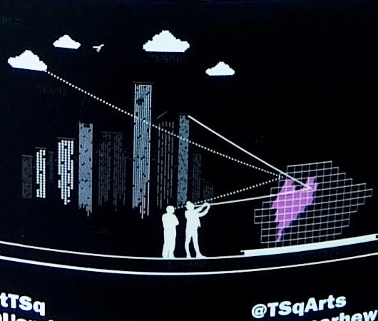 "Love in Times Sq. 恒例の愛のアート、2020年は""Heart Squared""_b0007805_23385046.jpg"