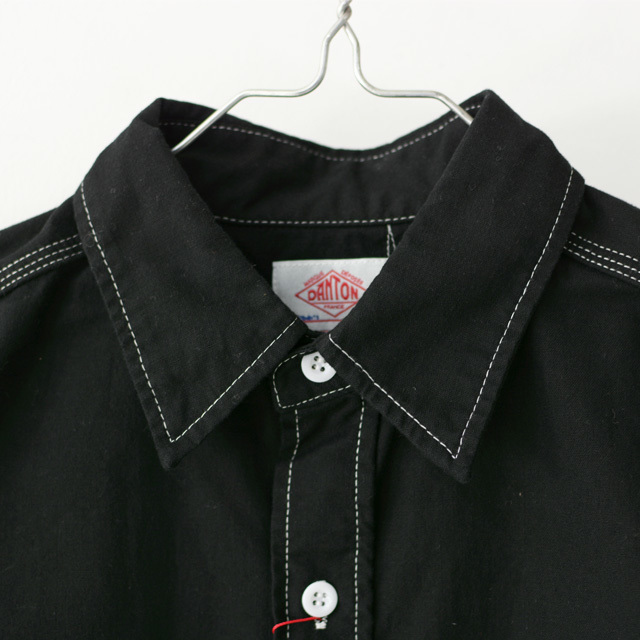 DANTON [ダントン] M\'s SELVAGE SHEETING SHIRTS [JD-3740 VTC] セルビアージ・シーティング・・ワークシャツ MEN\'S/LADY\'S _f0051306_15051713.jpg