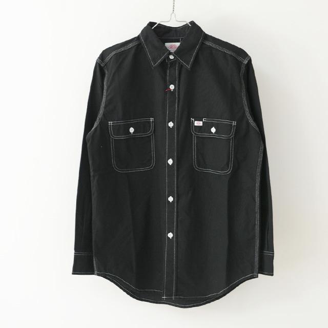 DANTON [ダントン] M\'s SELVAGE SHEETING SHIRTS [JD-3740 VTC] セルビアージ・シーティング・・ワークシャツ MEN\'S/LADY\'S _f0051306_15051720.jpg