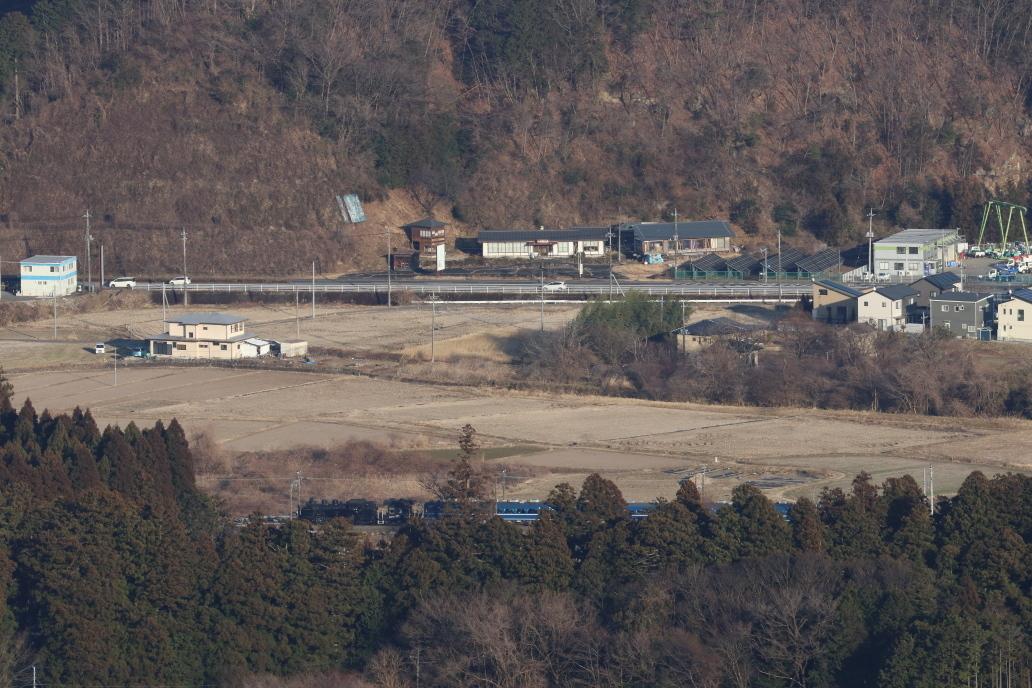 木々の隙間から見えた汽車 - 2020年・東武鬼怒川線 -_b0190710_22374212.jpg