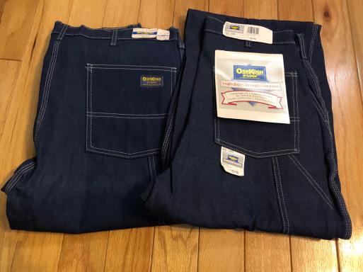 アメリカ仕入れ情報#24   デッドストック80s~OshKosh denim painter pants!_c0144020_09560347.jpg