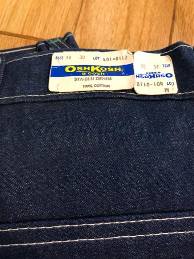 アメリカ仕入れ情報#24   デッドストック80s~OshKosh denim painter pants!_c0144020_09561264.jpg