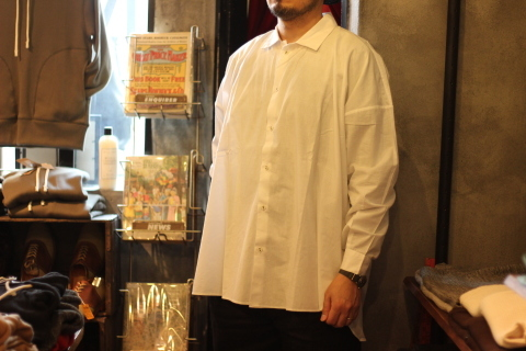 "「LaneFortyfive」アンティークなアートワークシャツ \""MORGAN\"" ご紹介_f0191324_08160428.jpg"