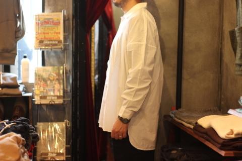 "「LaneFortyfive」アンティークなアートワークシャツ \""MORGAN\"" ご紹介_f0191324_08161673.jpg"