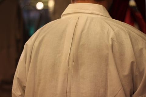 "「LaneFortyfive」アンティークなアートワークシャツ \""MORGAN\"" ご紹介_f0191324_08175588.jpg"