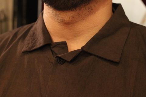 "「LaneFortyfive」アンティークなアートワークシャツ \""MORGAN\"" ご紹介_f0191324_08183834.jpg"