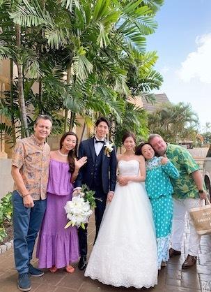 Happy Wedding IN HAWAII💓_c0187025_09512194.jpg