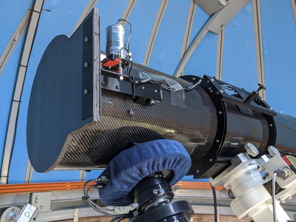 オライオン鏡筒に電動開閉蓋をつける_c0061727_10443030.jpg