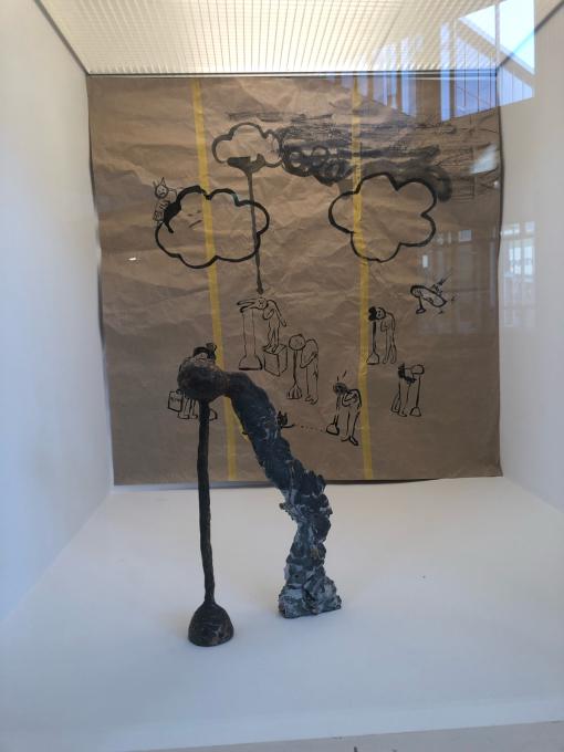 梶浦聖子展「きのう おじいちゃんが生まれたって」プラザノースで開催中_d0347031_21325591.jpg