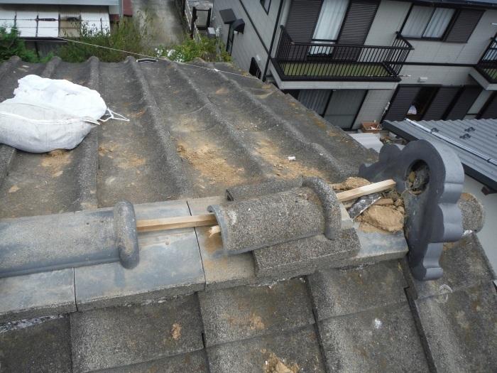 駐車場、屋根、玄関、室内 ~ 工事開始前に台風被害です。_d0165368_03352730.jpg