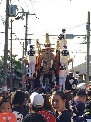 岸和田祭で血が騒ぐ~!?_e0123286_19053992.jpg