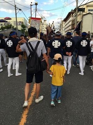 岸和田祭で血が騒ぐ~!?_e0123286_19062250.jpg