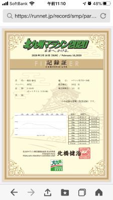 2020 北九州マラソン_f0220089_17312521.jpg