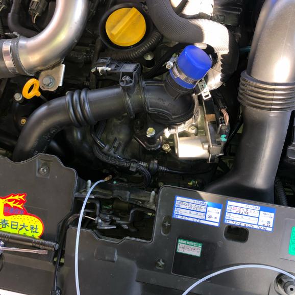 ルーテシア4RSカーボナイザー処理。61774km_f0032891_19224549.jpg