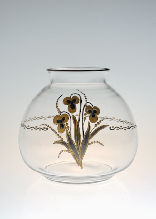 Baccarat G.Chevalier Black&Gold Vase_c0108595_23090465.jpeg