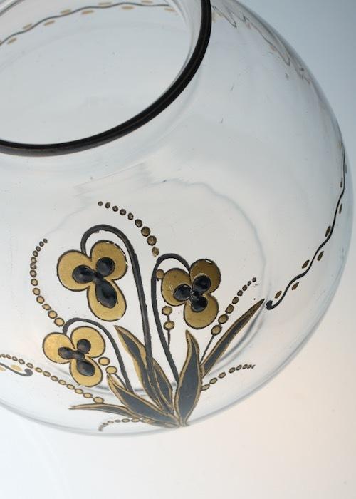 Baccarat G.Chevalier Black&Gold Vase_c0108595_23093246.jpeg