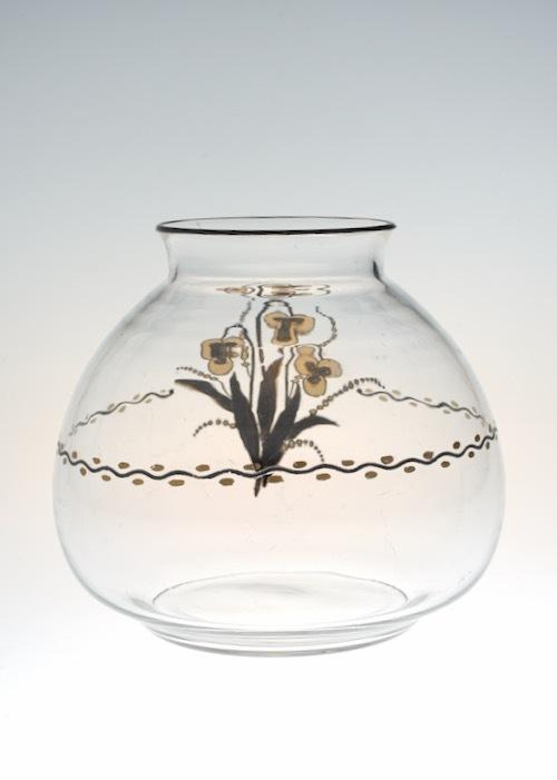 Baccarat G.Chevalier Black&Gold Vase_c0108595_23094149.jpeg