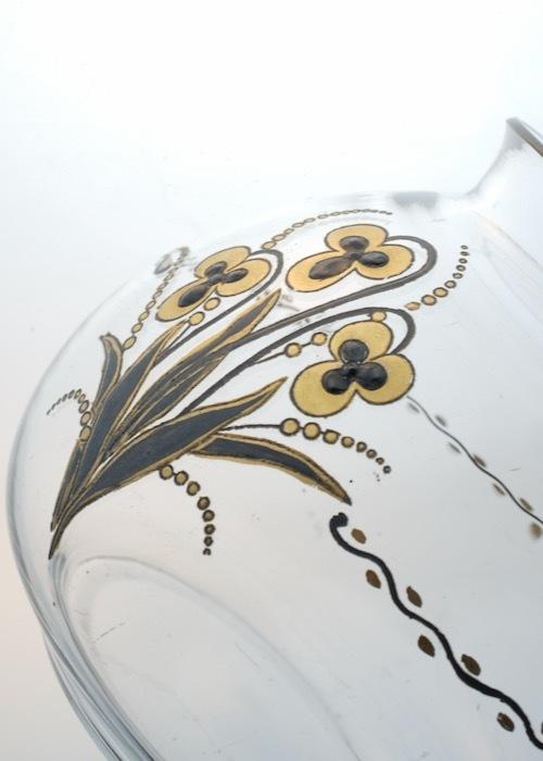 Baccarat G.Chevalier Black&Gold Vase_c0108595_23094534.jpeg