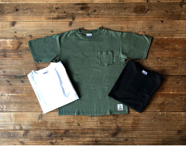 【DELIVERY】 STANDARD CALIFORNIA - Heavyweight Pocket T_a0076701_14223702.jpg