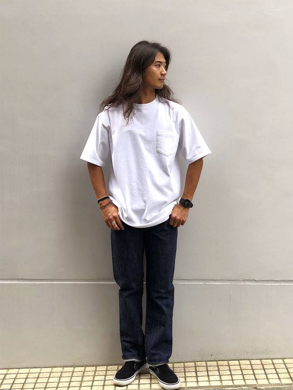 【DELIVERY】 STANDARD CALIFORNIA - Heavyweight Pocket T_a0076701_14255495.jpg