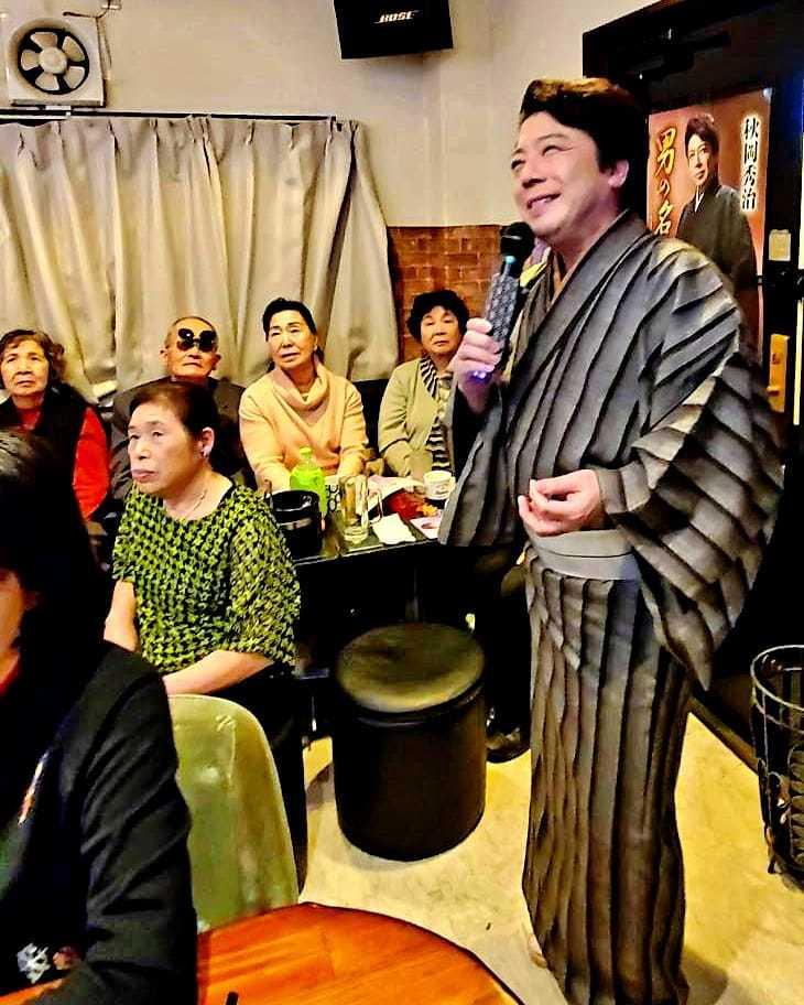 「歌うセールスマン・ローカル線の旅」3月ロケ収録2日目_b0083801_00470954.jpg