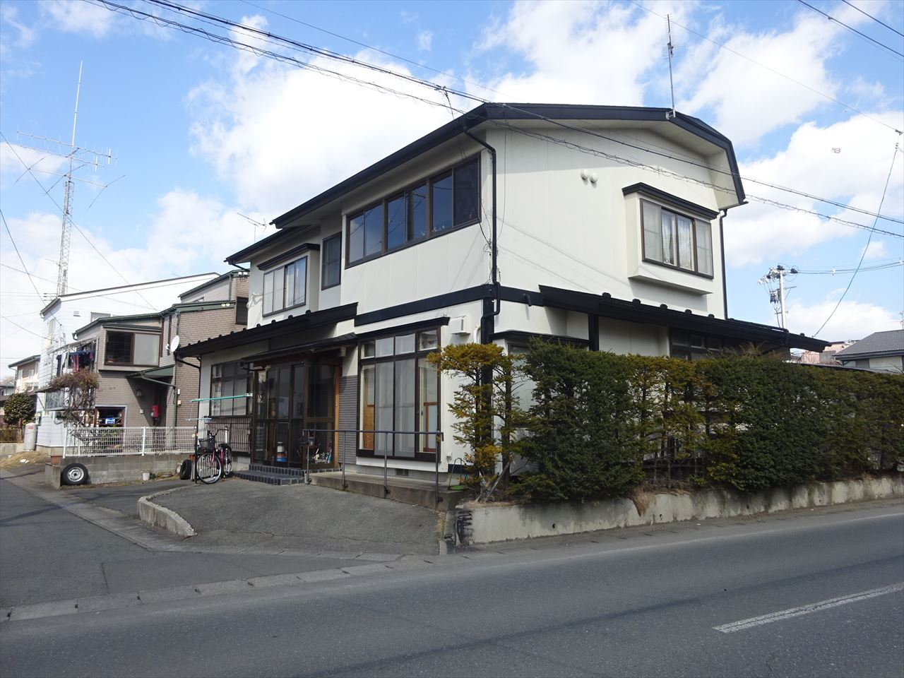 青山の家 建て替え工事 着工です!_f0105112_04215961.jpg