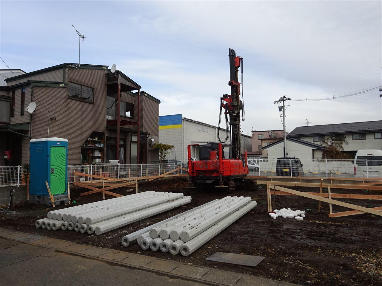 青山の家 建て替え工事 着工です!_f0105112_04351116.jpg
