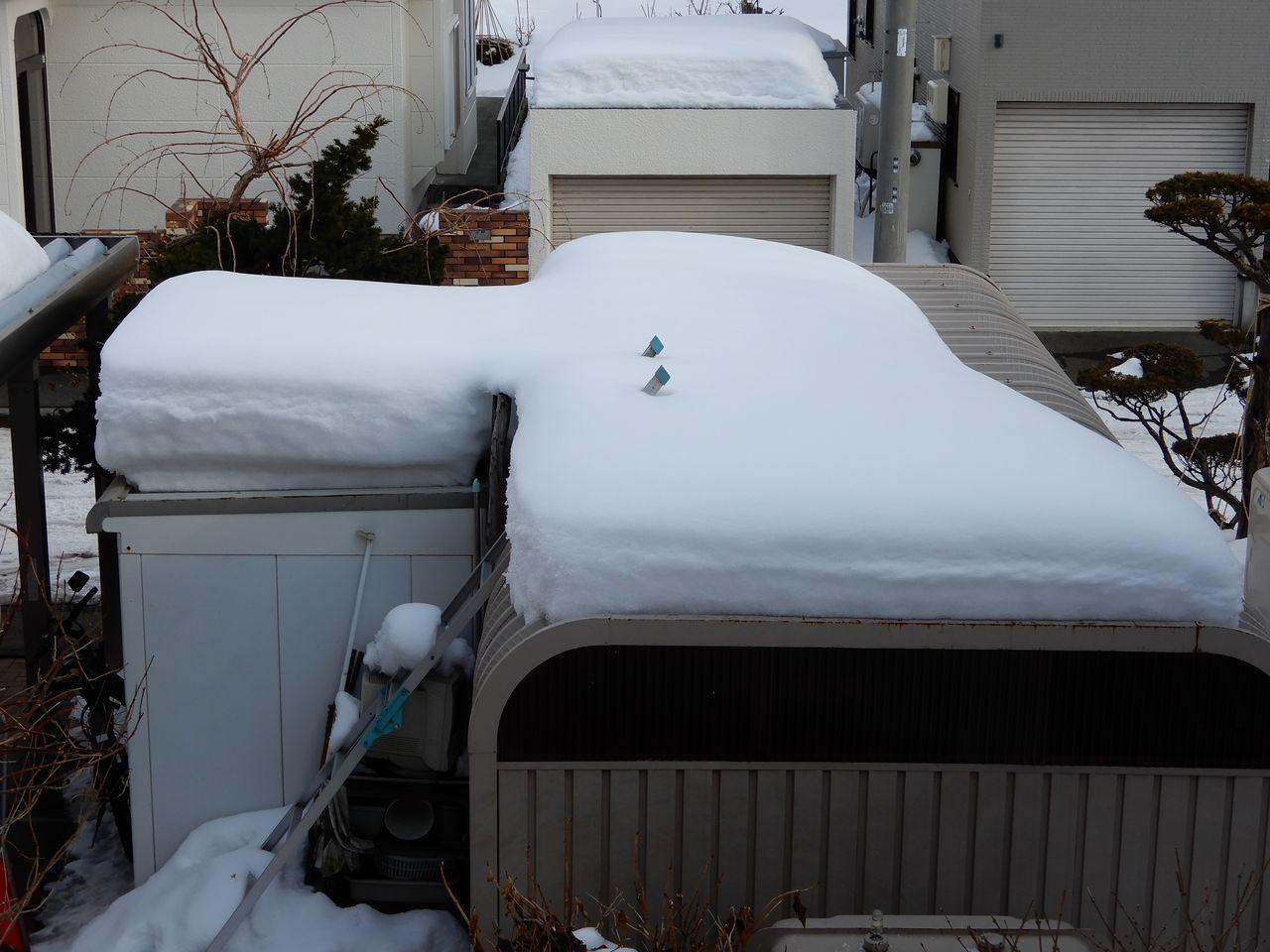 ゆっくりと雪が減ります_c0025115_21452535.jpg