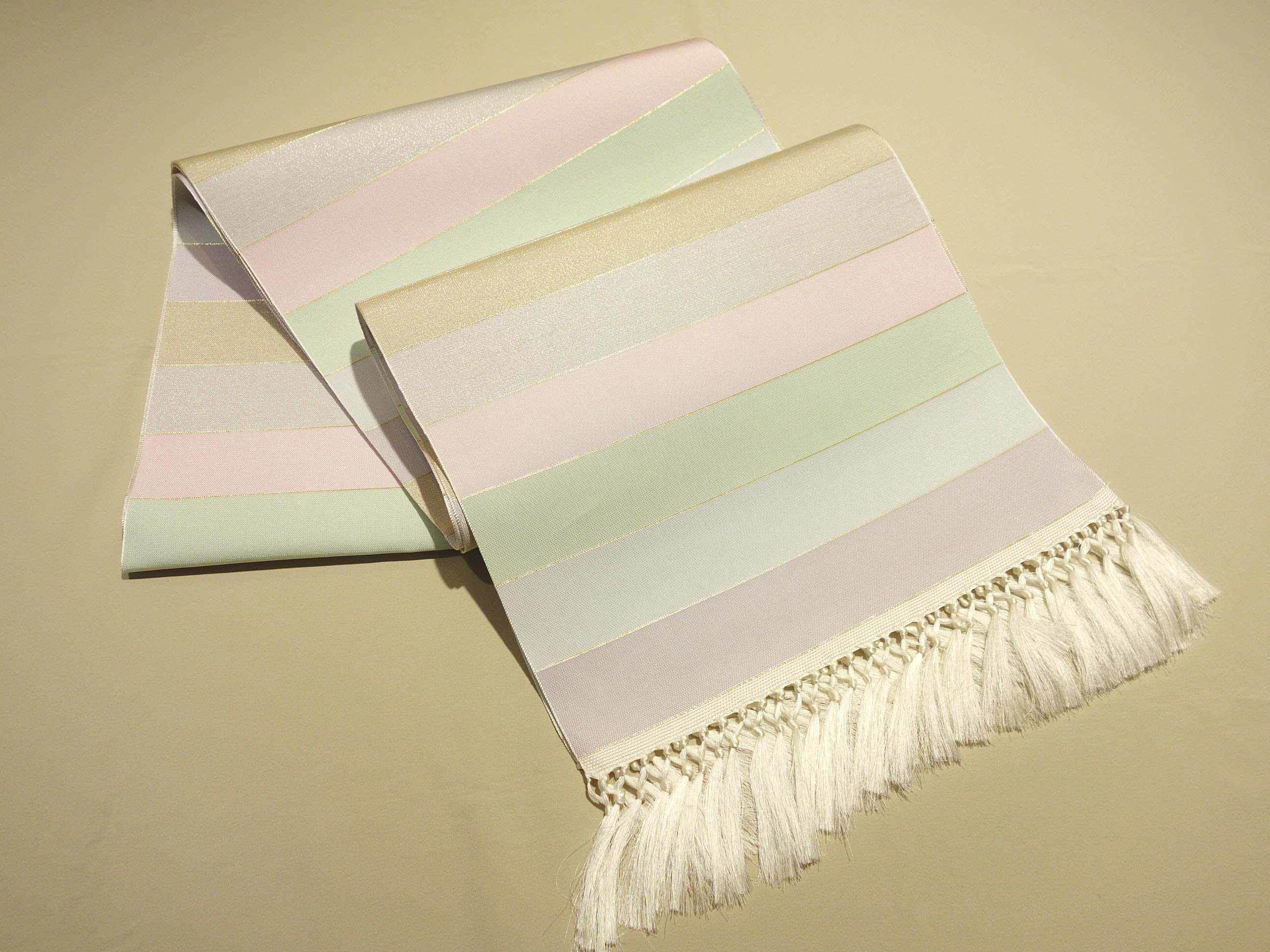 博多織帯「ひとへこえ・オーロラ」使用*ひな祭りコーデ紹介♪_e0167832_14031027.jpg