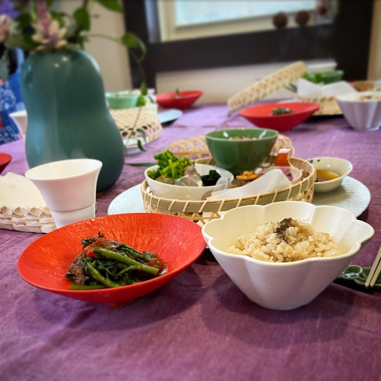 弥生の料理クラス   こんな時こそ   桜が満開  _b0346442_11402474.jpeg