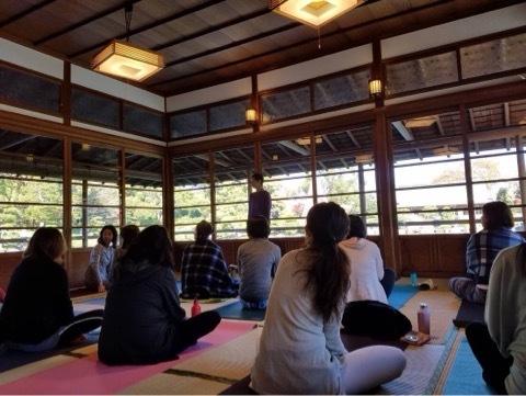 Breathing mayu yoga@清澄白河庭園 募集始まりました♪_a0267845_19563835.jpg