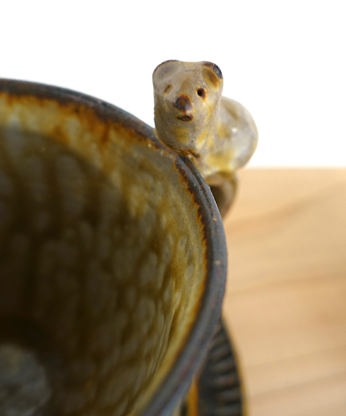 【原 在加 作陶展】よしよししたくなるヘンテコかわいい動物たちが待ってます_a0017350_03543815.jpg