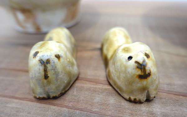 【原 在加 作陶展】よしよししたくなるヘンテコかわいい動物たちが待ってます_a0017350_03545330.jpg
