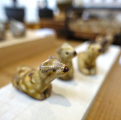 【原 在加 作陶展】よしよししたくなるヘンテコかわいい動物たちが待ってます_a0017350_03550142.jpg