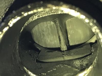 NSR MC21 焼き付き修理 ⓵_e0114857_18361568.jpg