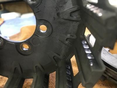 NSR MC21 焼き付き修理 ⓵_e0114857_18454816.jpg