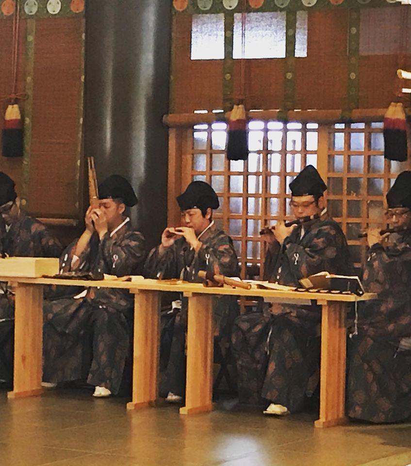 ひな祭り神事 雅楽奉仕_f0136366_11581474.jpg