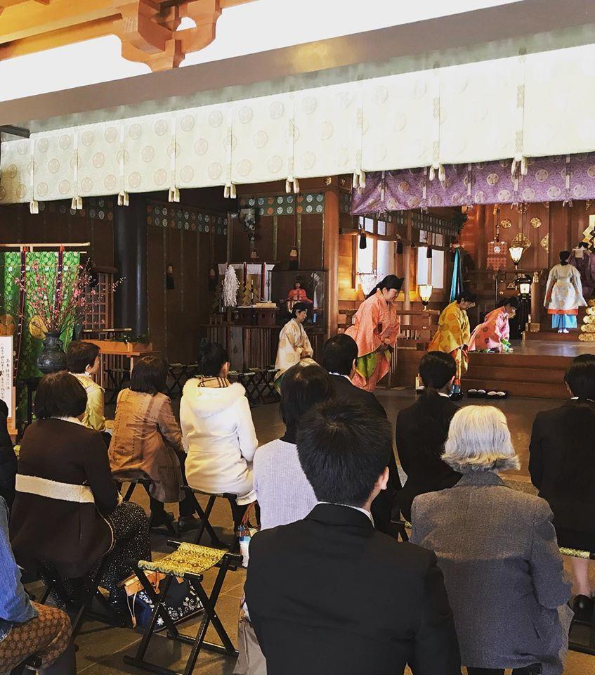 ひな祭り神事 雅楽奉仕_f0136366_11582443.jpg