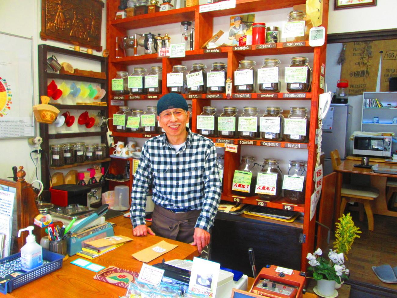 昨日は、コーヒー豆を買いに、「蔵王の森焙煎工房 旅籠町店」に行ってきました_d0159273_05004092.jpg