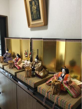 お雛様&アレンジ&むうみん_e0185787_19272199.jpg