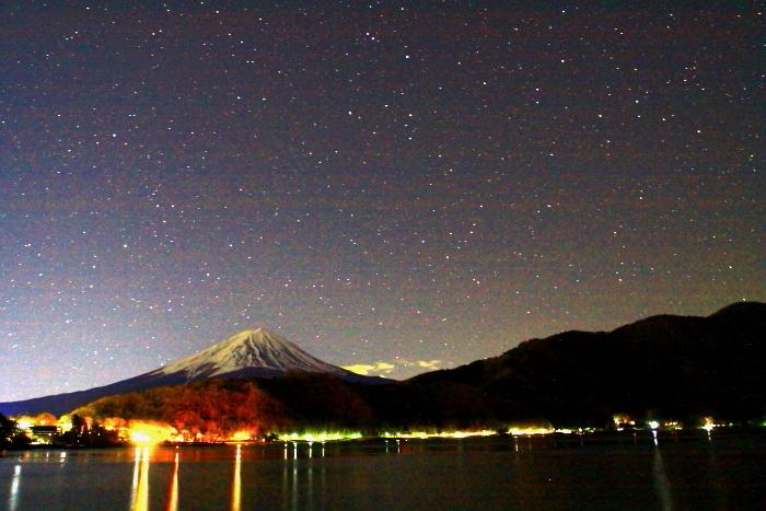 令和2年2月の富士 (24) 河口湖星空の富士_e0344396_17021102.jpg