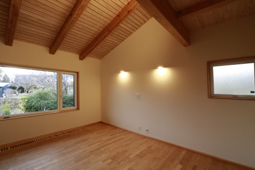 Q1住宅L2二ツ井:客間、寝室、書斎_e0054299_13404470.jpg