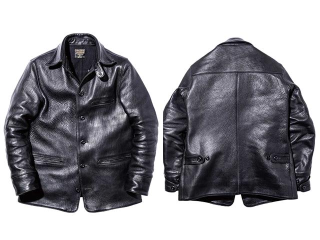 30\'s Leather Car Coat Gilmour_d0100143_12192104.jpg