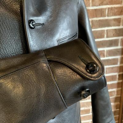 30\'s Leather Car Coat Gilmour_d0100143_14321265.jpg