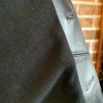 30\'s Leather Car Coat Gilmour_d0100143_14322574.jpg