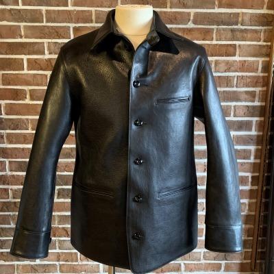 30\'s Leather Car Coat Gilmour_d0100143_14335589.jpg