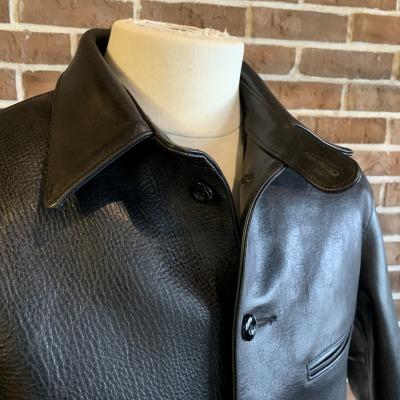 30\'s Leather Car Coat Gilmour_d0100143_14340449.jpg